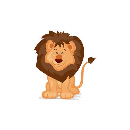 leon bebe: Le�n lindo Sentado Vectores