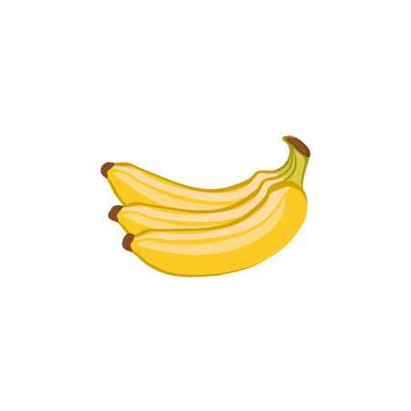 Vector Fruits - Yellow bananas