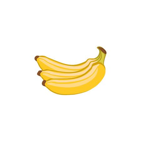 Vector Fruits - Yellow bananas 免版税图像 - 44786606