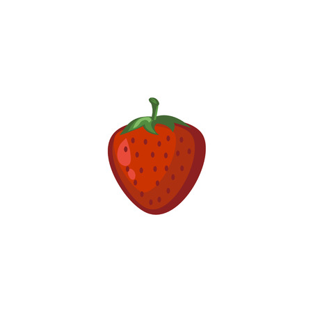 Vector Fruits - Strawberry