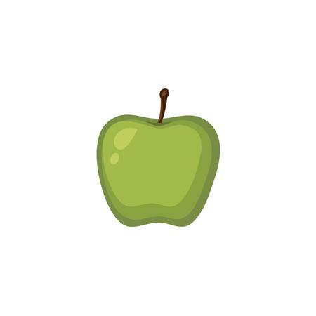 Vector Fruits - Green Apple