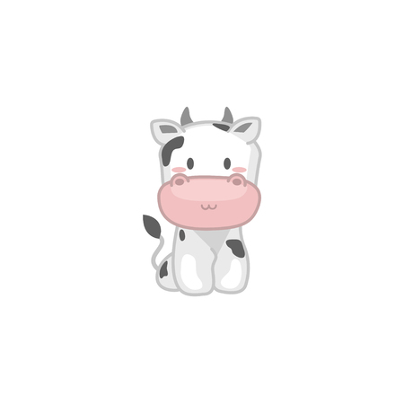 Baby Cow Illustration