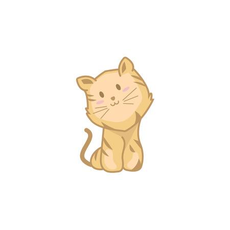 Baby Tiger Illustration