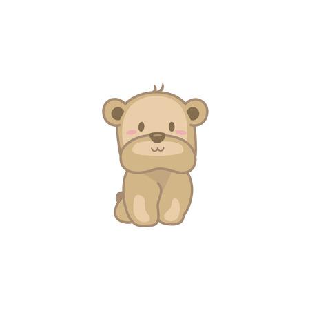 Baby Bear Illustration