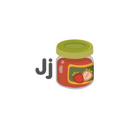 J is for Jam 矢量图像