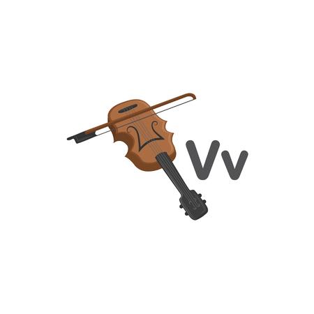 V is for Violin