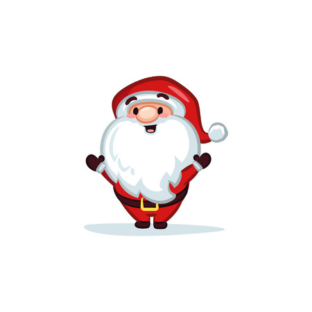 Christmas Vectors - Santa Claus Hands Up