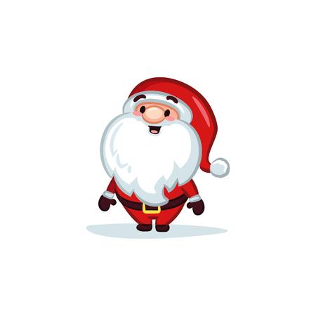 Christmas Vectors - Santa Claus 矢量图像