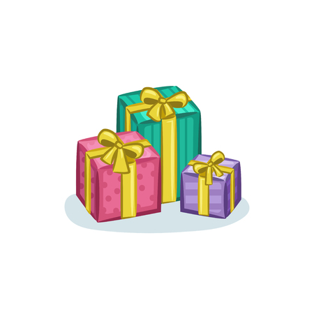 Christmas Vectors - Gifts 矢量图像