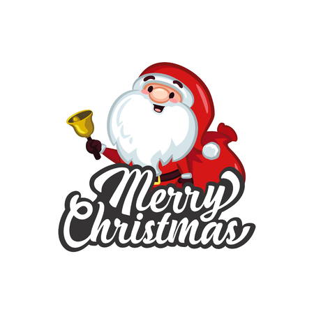 Christmas Vectors - Greeting with Santa
