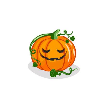 Cute Jack-o-Lantern Vector 免版税图像 - 112957879