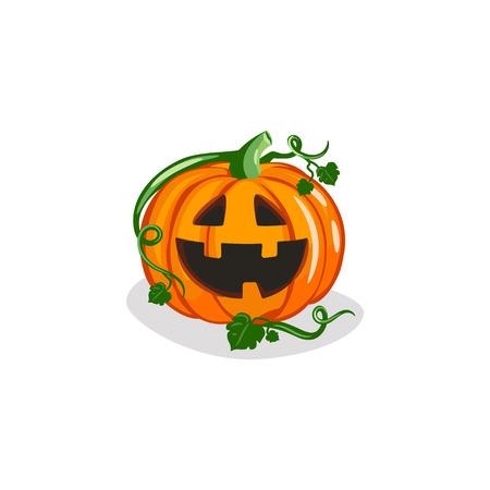 Cute Jack-o-Lantern Vector 免版税图像 - 112957883