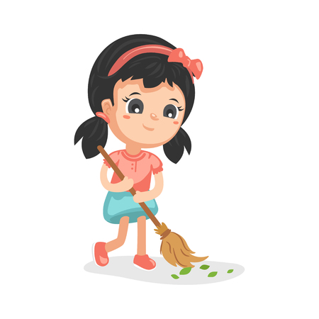 Good Habits - Sweeping 免版税图像 - 112957983