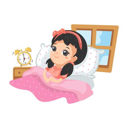 Good Habits - Waking Up Early Illustration