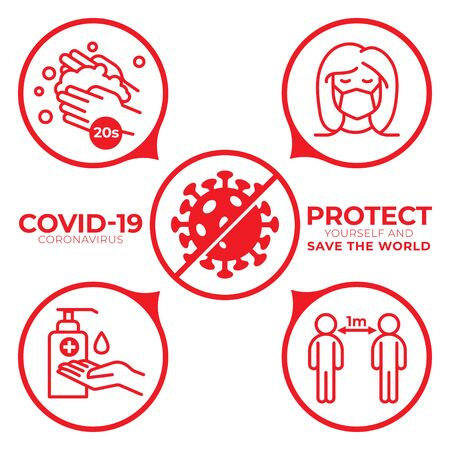 Covid-19 Coronavirus - Protect Yourself to Save the World