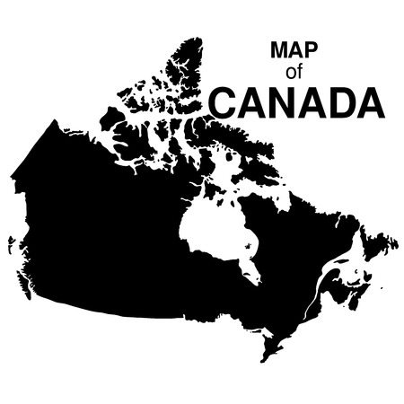 navigation map: Regions map of Canada