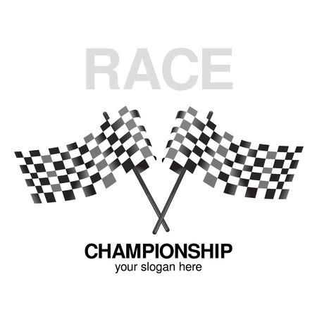 checker flag: Checkered  flag racing