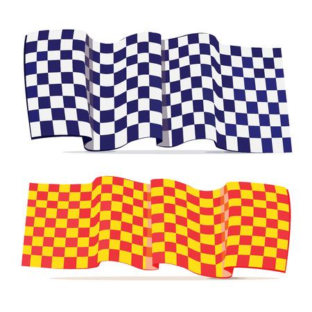 karting: Two Checkered  flag racing