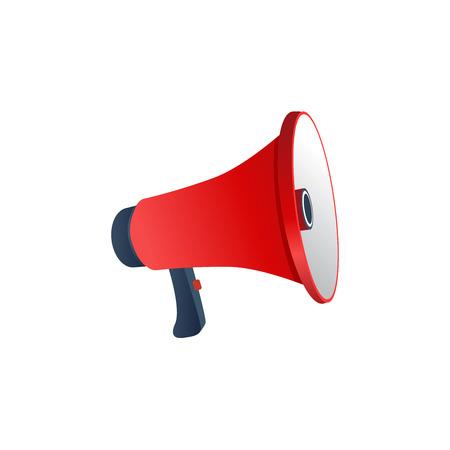 loudspeaker: Red Loudspeaker