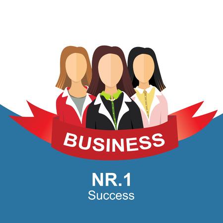 zakelijke vrouw: Three business woman