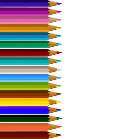 color pencils: Color pencils vector