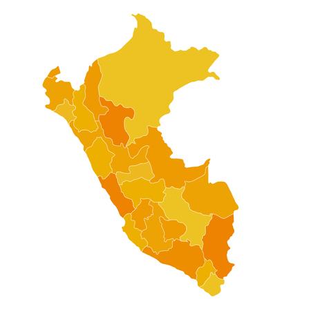 mapa del peru: Regiones mapa de Per� ubicaci�n