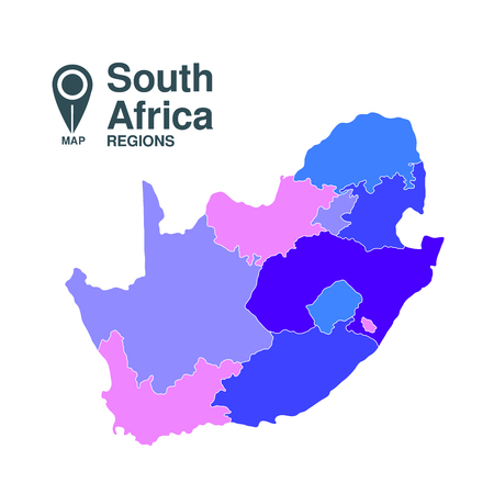 cape town: Map of South Africa