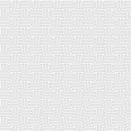 repeat pattern: Abstract gray line pattern. Gray repeat pattern Illustration