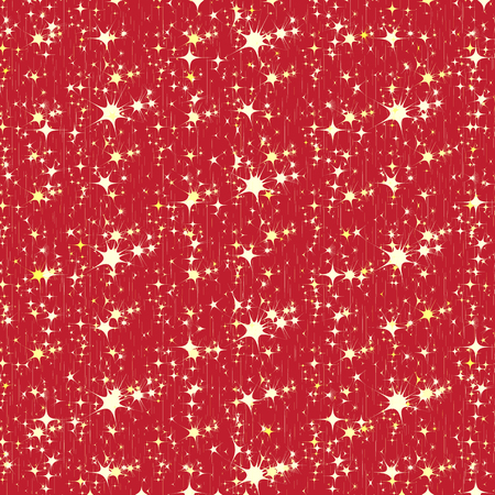 bengals: Firework pattern on red background vector texture
