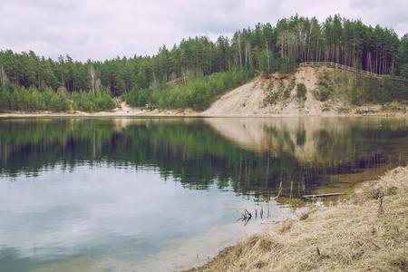 come in: Spring come in Latvia.