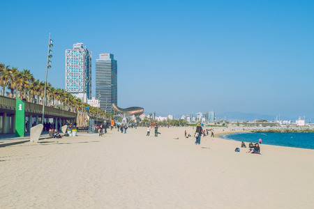 City view, Barcelona, Spain 2013, Nature, buildings and beautiful view. Its a travel photo, when I walk around.