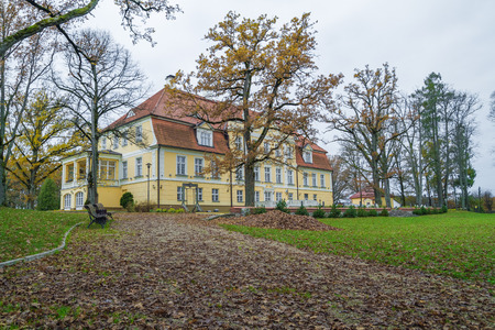rundale: Old castle, 2014, Latvia. Now is restaurant. Editorial