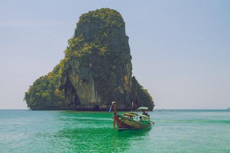 Thailand, Ko Lanta, beach, boats, sea, island. 2016