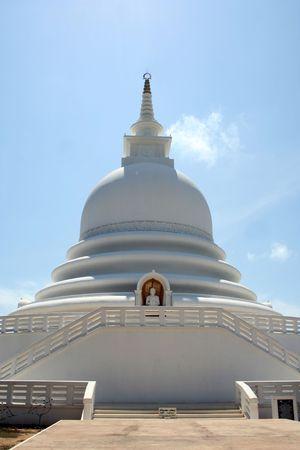 dagoba: Buddist Temple - Dagoba Sri Lanka