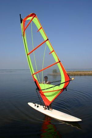 exhilaration: Windsurfer