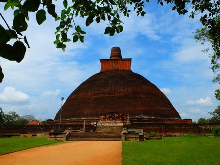 anuradhapura: pagoda of Anuradhapura