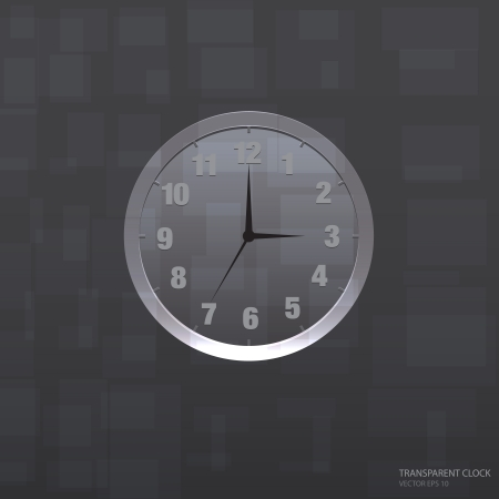 background image: Reloj con colores transparentes, ilustraci�n vectorial utilizado la imagen de fondo, imagen web, e icono moderno