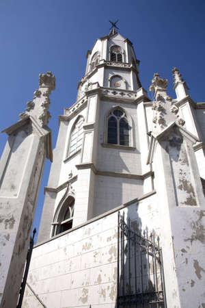 valparaiso: Valparaiso church, Chile