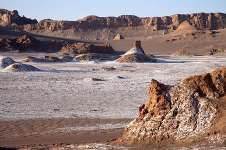 Valley of the moon in the desert near San Pedro of Atacama Stock Photo - 5436962