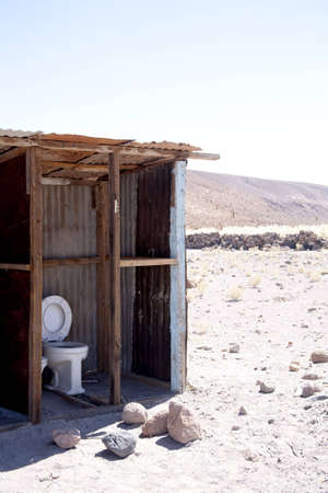 Oasis in Atacama desert, Chile