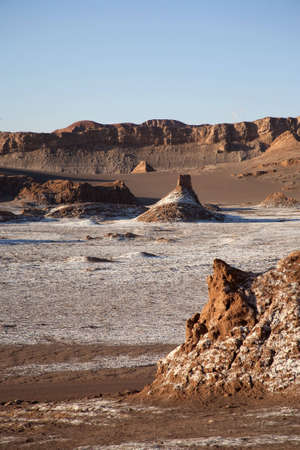 mountain oasis: chile, cordilleras, desert, mountain, oasis, sunset, valley of the moon, atacama, andes