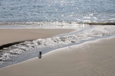valparaiso: Valparaiso beach, Chile Stock Photo