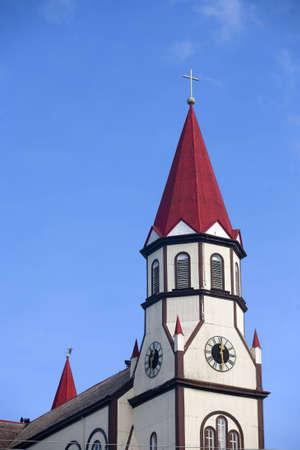 Puerto Varas church, Chile photo
