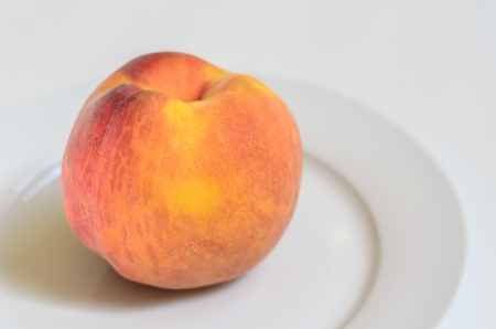 ripe: Perfect Fresh Ripe Peach