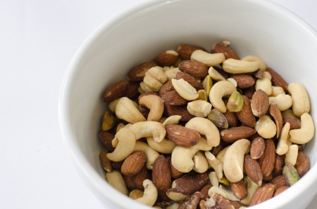 mixed nuts: Close-up of the mixed nuts Stock Photo