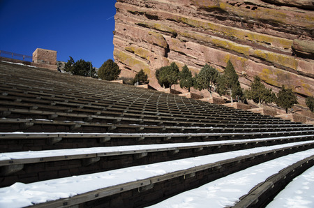 morrison: Red Rocks Park and Amphitheater in Morrison, Colorado