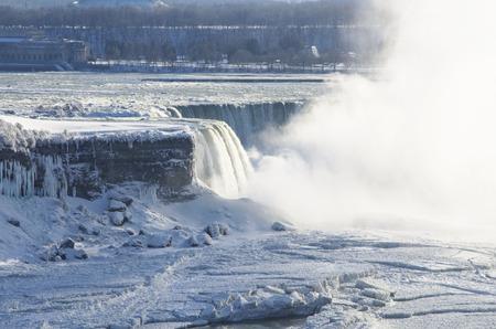 horseshoe falls: Horseshoe Falls at Niagara Falls