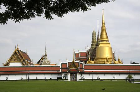 phra si rattana chedi: Grand Palace in Bangkok, Thailand