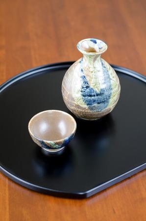 japanese sake: Japonesa Set Sake potable