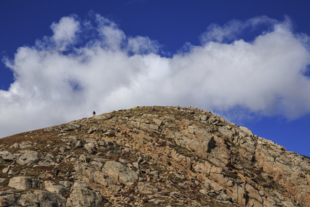 mount evans: Hiking on Mount Evans